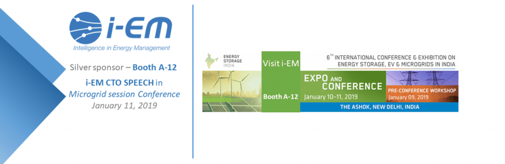 Energy Storage INDIA, i-EM speaker and exhibitor