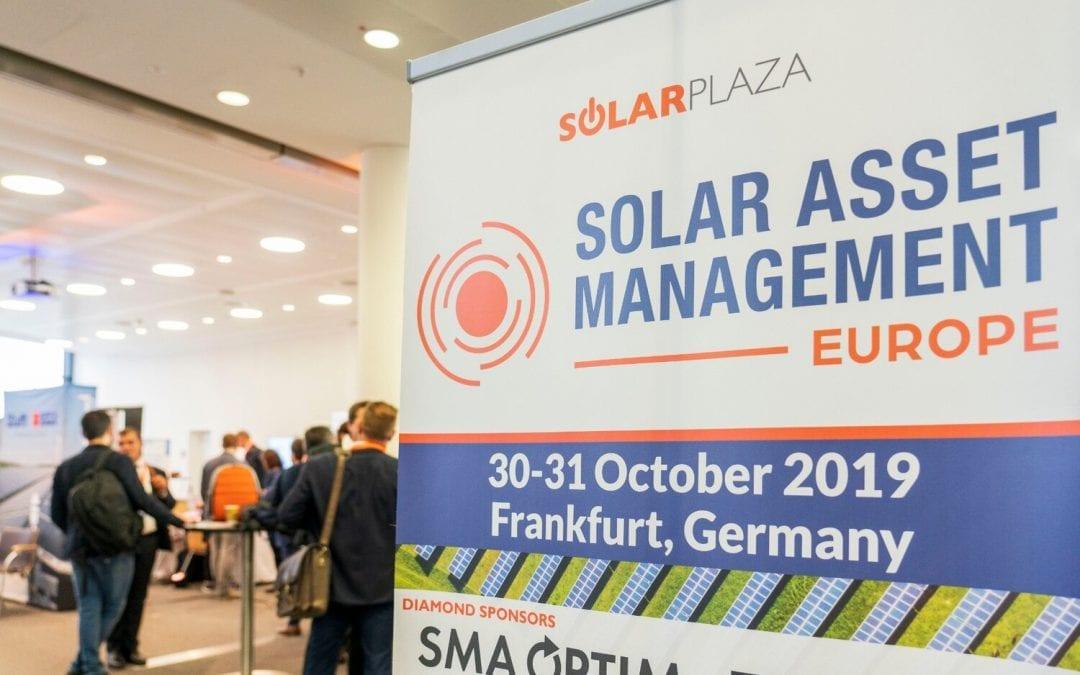 A new i-EM success at Frankfurt 2019: Solar Asset Management Europe 6th edition