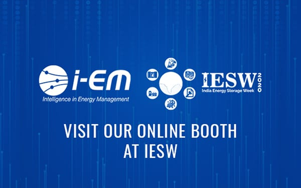i-EM will be a session partner of IESW 2020: come visit us