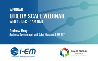 i-EM SAT presentation at SEC webinar on sat information for solar assets