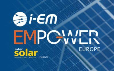 i-EM will be at Intersolar Munich